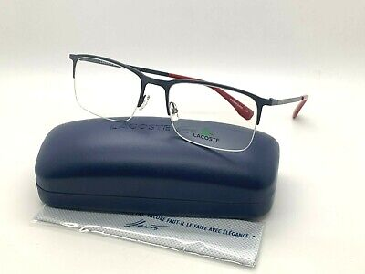 LACOSTE Eyeglasses L2241 033 MATTE GUNMETAL  55-19-140MM BRAND NEW W CASE