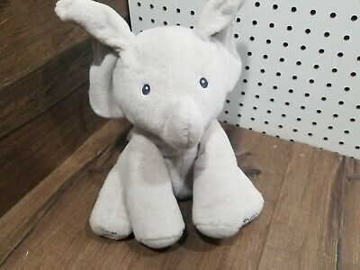 GUND Baby Animated Flappy The Elephant Plush Toy - NWOT