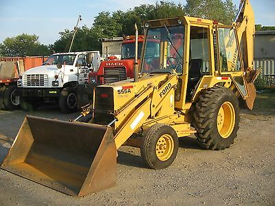 Ford Tractors 555a 555b 655a Tlb Backhoe Loader Shop Service Repair Manual Cd