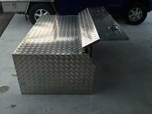 Heavy duty checker plate tool/storage box to fit back of ute. Ningi Caboolture Area Preview