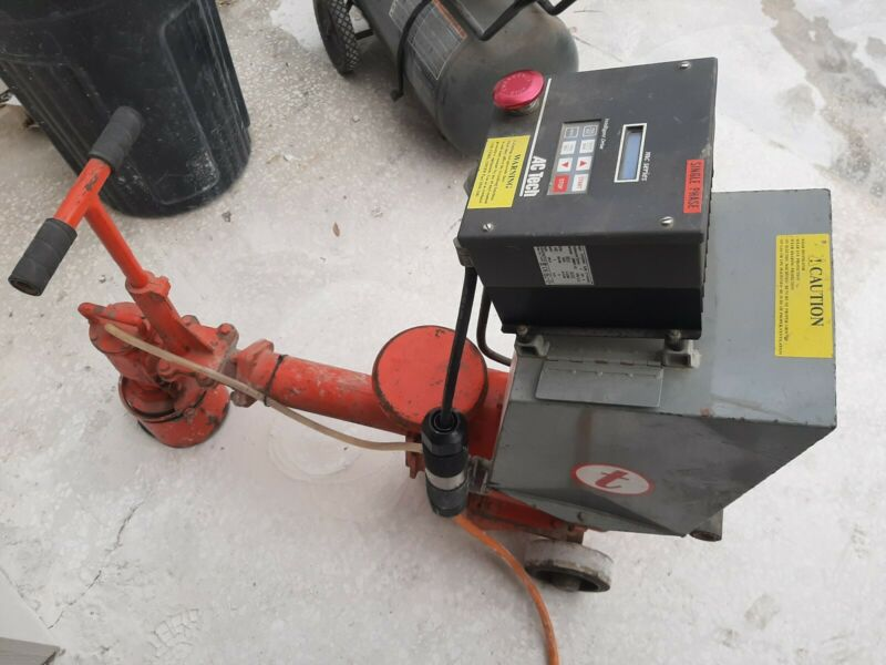 Terrco 151 border machine, concrete edge grinder