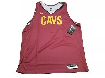 New Nike Men's Cleveland Cavaliers NBA Practice Jersey Tank Size 2XL