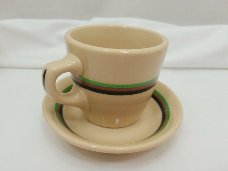 Vintage Inca Ware Shenango China Restaurant Ware Cup & Saucer NM- Condition