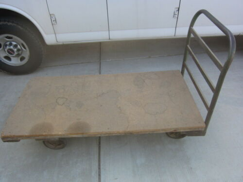 """30""""x60"""", 12½"""" Height Platform Cart Hand Truck Dolly, Used"""