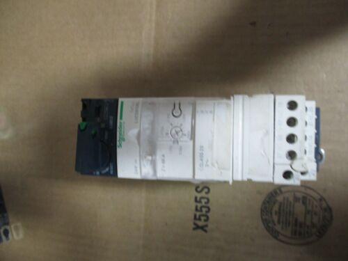 SCHNEIDER ELECTRIC MOTOR STARTER P/N LVCD05BL #11221215B USED