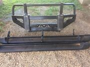 Genuine Toyota Hilux Bullbar and Side Steps Holbrook Greater Hume Area Preview