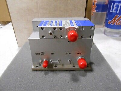 Frequency-west Msc-620mx-10 Microwave Oscillator