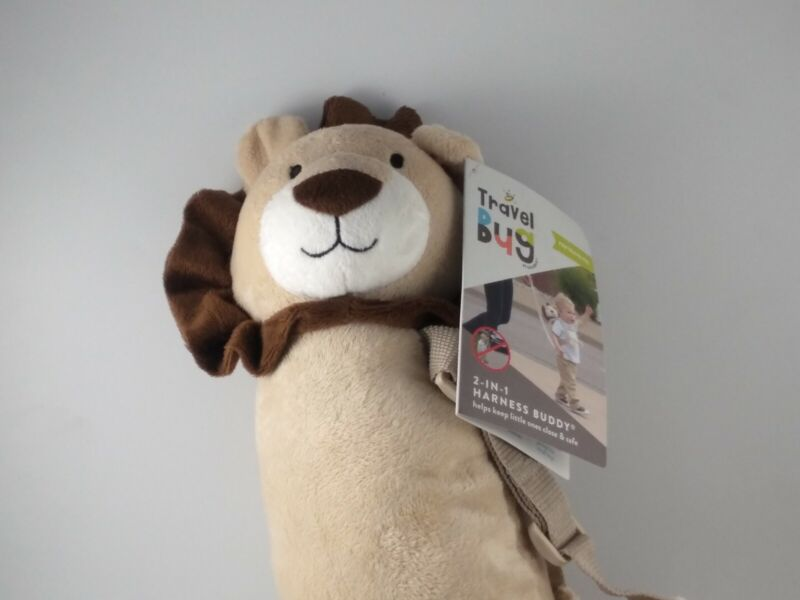 Travel Bug Toddler Character 2-in-1 Safety Harness - lion