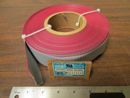 50 Feet Allied Quick-Strip Spectra Strip Grey Flat Ribbon Cable 26 Conductor New