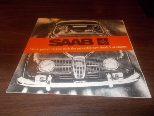 1967 Saab Sales Brochure