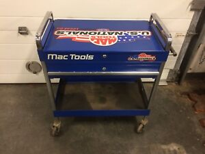 Limited edition Mac tool cart