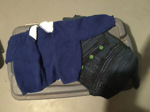 2 toddler sweaters