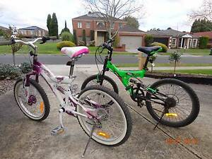 Kids Bicycles - Size 20 Wantirna South Knox Area Preview