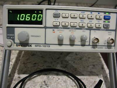 Gw Instek Sfg-1013 Synthesized Function Generator