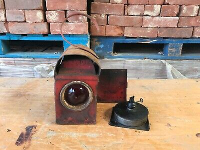 Antique/Vintage/Retro Railway Lamp