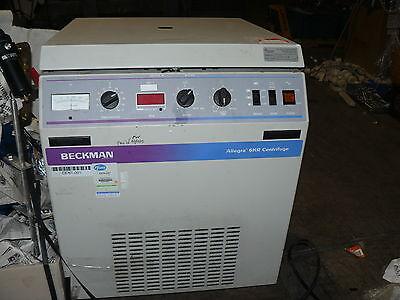 Beckman Allegra-6kr Centrifuge 366830 120v 12a 60hz