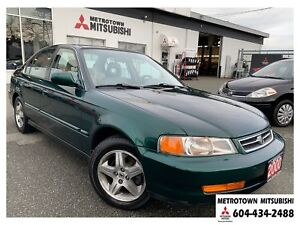 2000 Acura EL 1.6; Local BC vehicle! One owner since new!