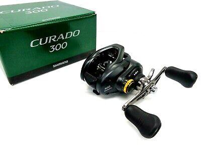 Choose LH or RH Ratio Shimano Curado 300K Series Baitcast Reel