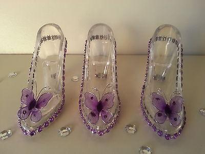 12 Fillable Cinderella Slippers Favors Birthday Sweet 16 Bridal Shower Wedding - Sweet 16 Birthday Favors