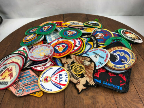 Vintage Lot of 82 Mainly BSA Boy Scout Patches