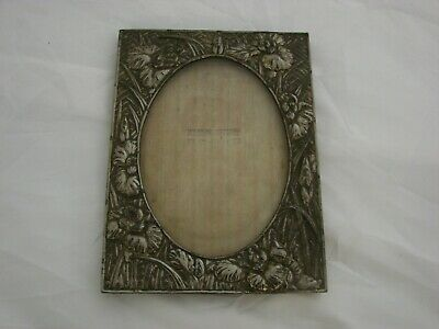 ANTIQUE CHINESE JAPANESE ASIAN METAL PICTURE FRAME