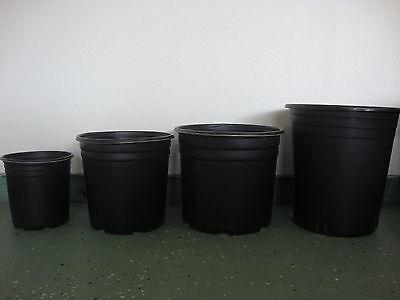 1 , 2 , 3 , 5  Gallon Plastic Nursery Container Pots  5 Gallon Nursery Pot