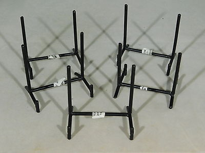 A Lot of Five (5) Very Sturdy SMALL Iron or Metal Easel Display Stands!!