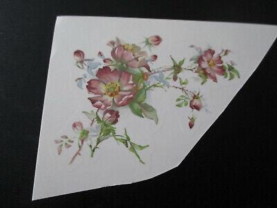 Schiebebild Abziehbild Rambler Rose einbrennbar 800°