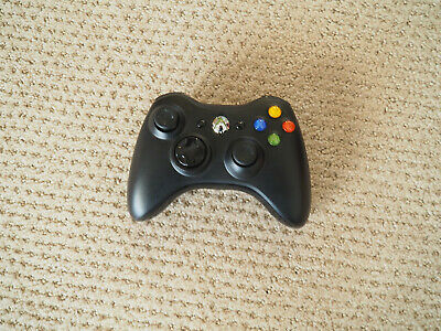 Xbox 360 Wireless Controller X853164 black EUC