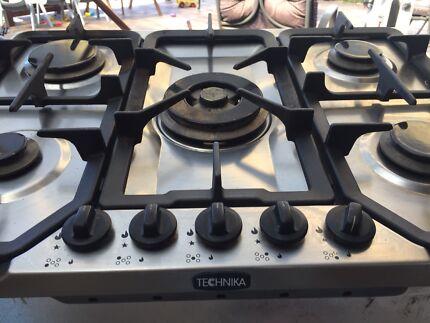 Gas cooktop - Technika