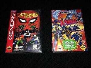 Spider-Man X-Men for Sega Genesis CIB $30