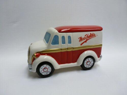 Mrs Fields Cookie Delivery Truck Cookie Jar w/ Lid