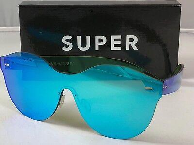 Retrosuperfuture Tuttolente Mona Azure Frame Sunglasses SUPER 7JS 54mm NIB