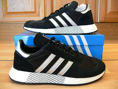 Adidas Originals Marathon Trainers - Black Size 9