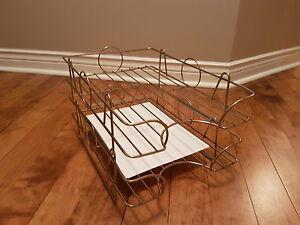 Vintage filing rack