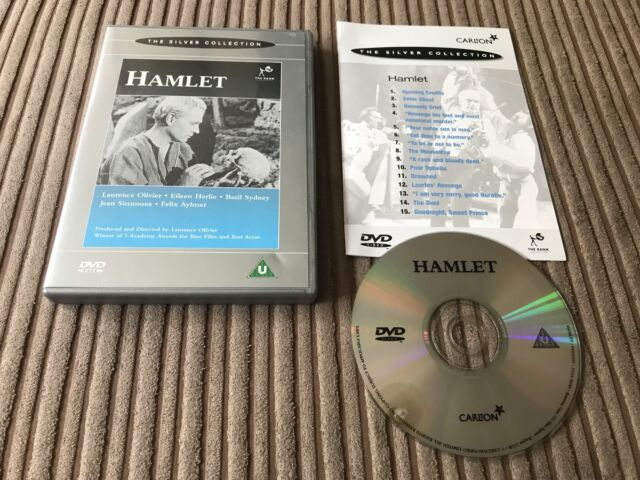 Hamlet the Silver Collection DVD Laurence Olivier Jean Simmons
