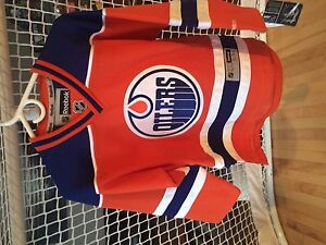 OILERS Third Jersey - Youth Size S/M