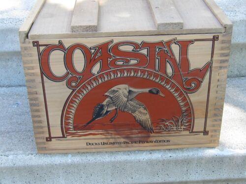 Coastal Ducks Unlimited Pacific Flyway Magnum Ammo Crate 12ga. 500 Shot Shells