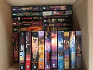 Box of 33 Star Wars Paperback Novels