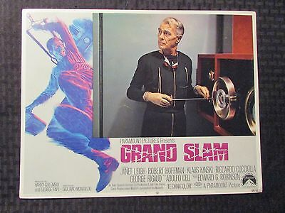1968 GRAND SLAM Original 14x11 Lobby Card #3 5 6 VG/VG+ LOT of 3 Janet Leigh