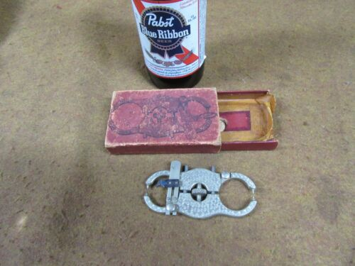 Vtg L.C.R Pat.Parallel Caliper,Orig Box,Pre-War,Germany~NICE😎😎😎#PC8.13.20
