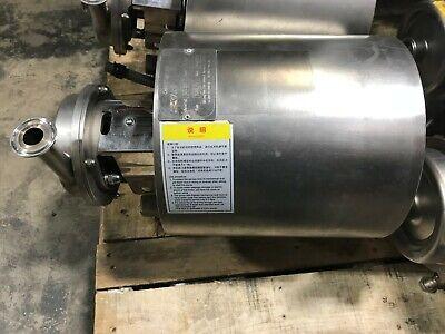 Jlem 1 Hp 3400 Rpm 220v Jm801-2 3 Ph Motor W 3000l Centrifugal Pump For Brewing