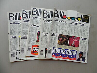 1985  BILLBOARD Magazine Lot of 5 Weeks you get 5 Magazines all have label