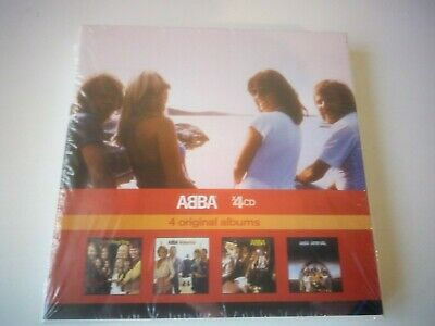 ABBA - 4 ORIGINAL ALBUMS 4 CD BOXSET 2010 NEW AND SEALED POP