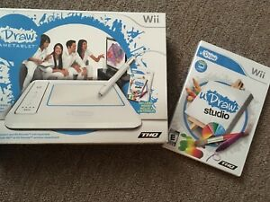 Wii U Draw Tablet and Game