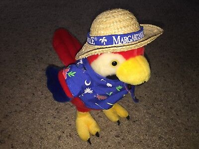 "Jimmy Buffett Margaritaville Parrot 11"" Plush Stuffed Animal Myrtle Beach"