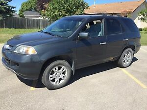 2005 Acura MDX awd 241 km clean title safetied $6000