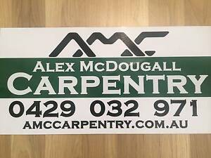 Alex McDougall Carpentry Bunbury Bunbury Area Preview