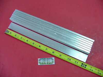 8 Pieces 14 X 1 Aluminum 6061 T6511 Solid Flat Bar 12 Long .25 Mill Stock