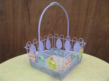 Egg basket decorative accessories gumtree australia gold coast easter basket new with pretty egg display decorations negle Image collections